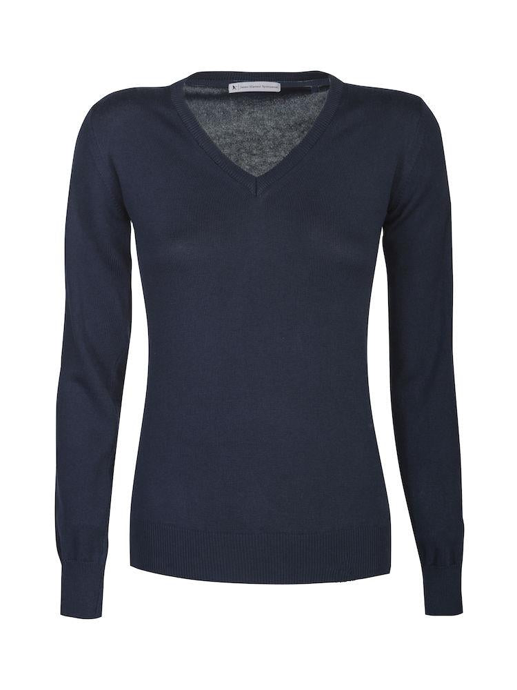 Harvest Westmore Lady merino pullover Navy