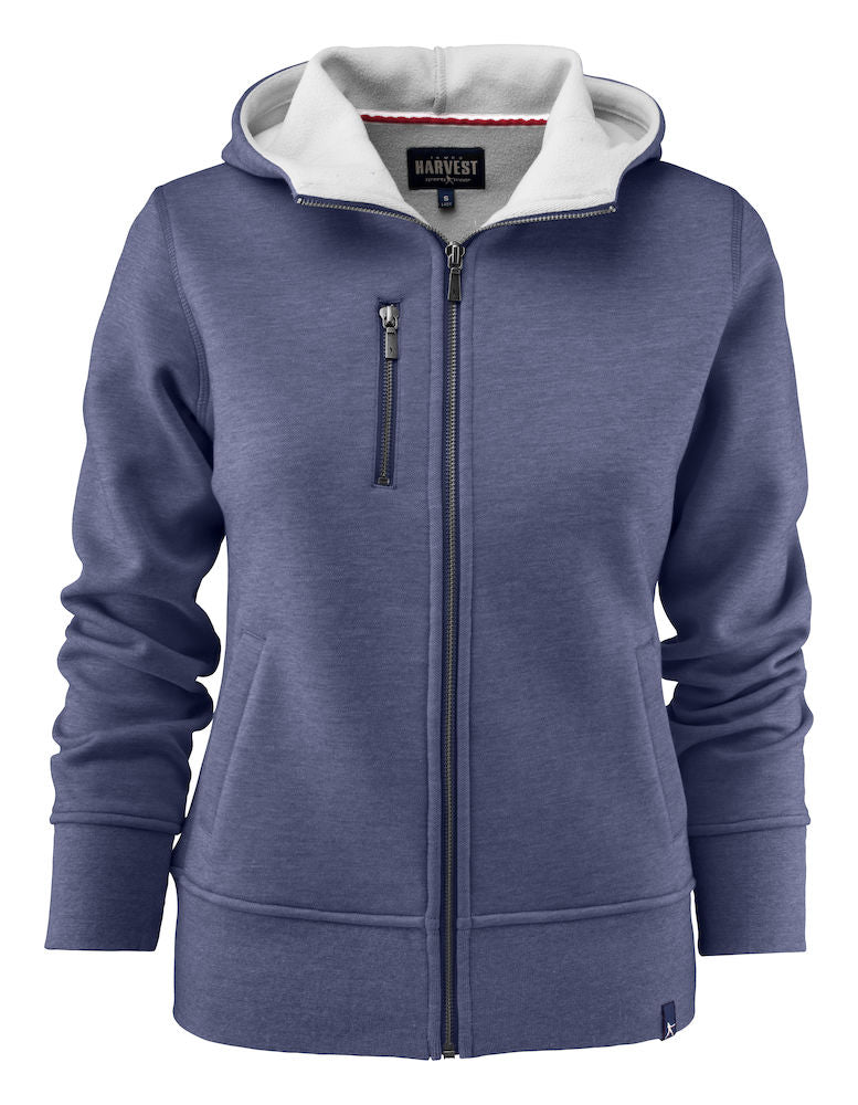 Harvest Parkwick hooded lady jkt D. Blue mel
