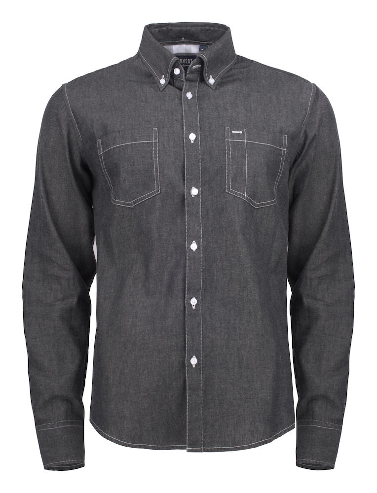 Harvest Jupiter shirt Black Denim