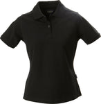 Harvest Albatross ladies piqué Black