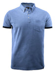 Harvest Larkford polo L.blue melan