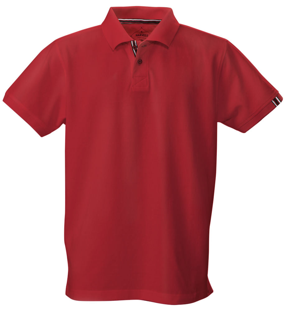 Harvest Avon Men's Pique Red