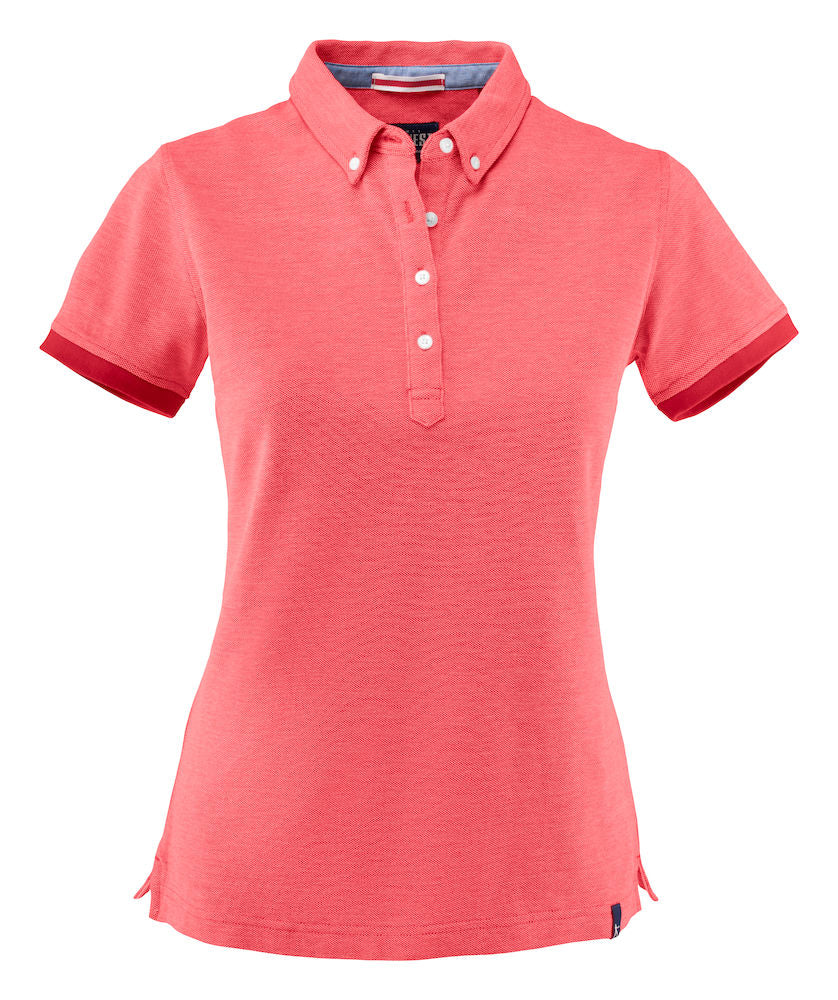 Harvest Larkford Lady polo Red melange
