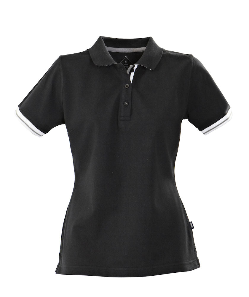 Harvest Antreville Ladies Pique Black