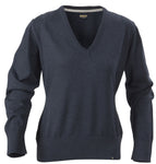 Harvest Loraine Ladies v-neck Navy melange