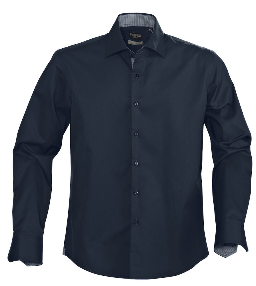 Harvest Baltimore single color shirt Navy