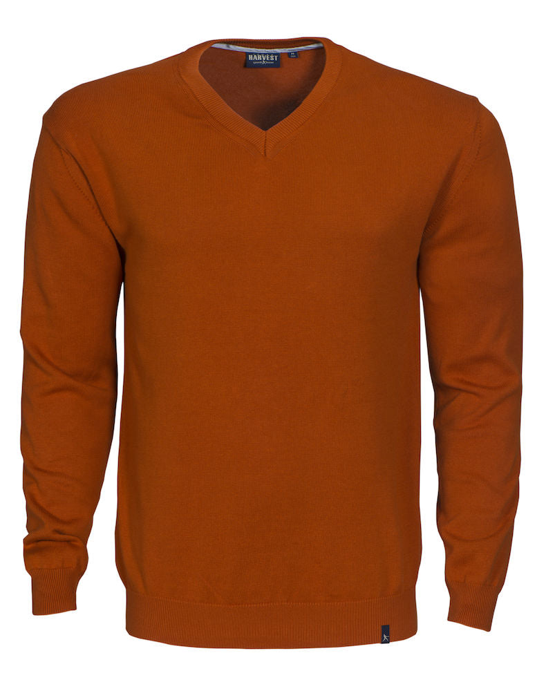 Harvest Nottingmoon Pullover Burnt Orange