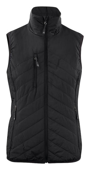 Harvest Deer Ridge Lady Vest Black