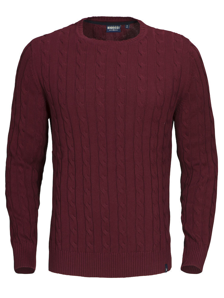 Harvest Treadville Pullover Burgundy Red