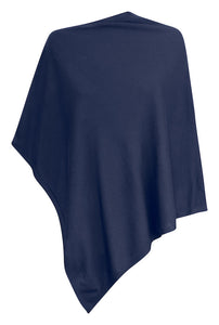 Harvest Poncho Navy One size