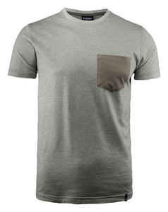 Harvest Portwillow Tee Grey melange