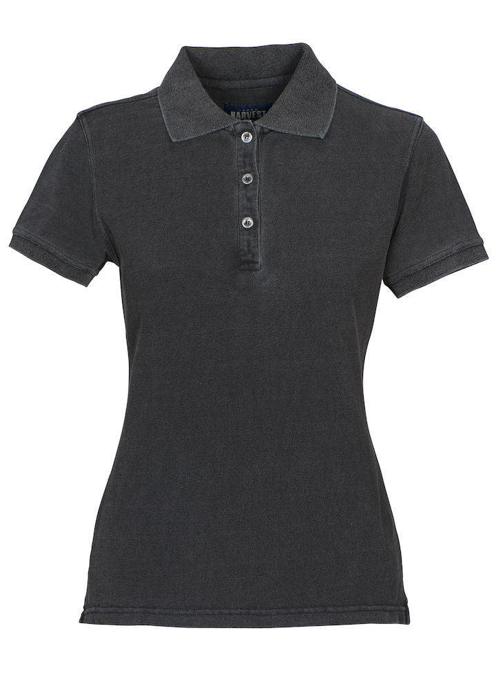 Harvest Fordham Lady polo Black denim