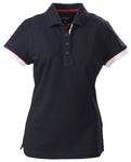 Harvest Antreville Ladies Pique Navy