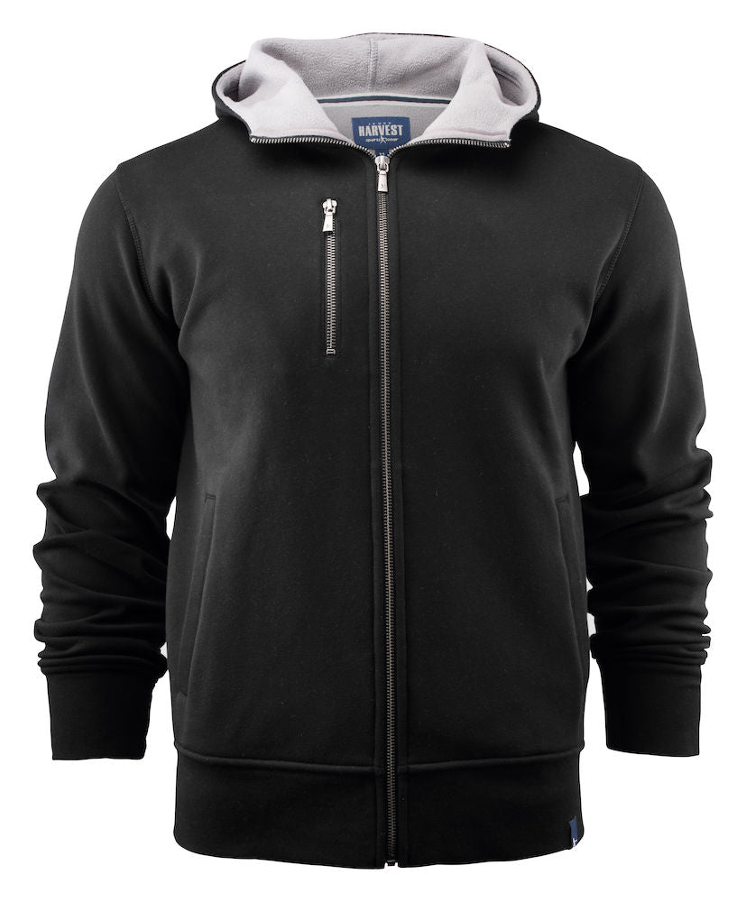 Harvest Parkwick hooded jacket Black