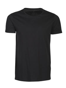 Harvest Twoville slub U-neck Black