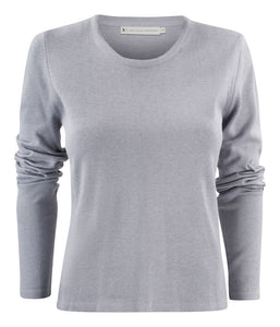 Harvest Portland Lady r-neck pullo Grey Melange XS