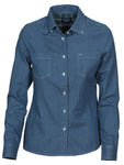 Harvest Jupiter ladies shirt Light denim