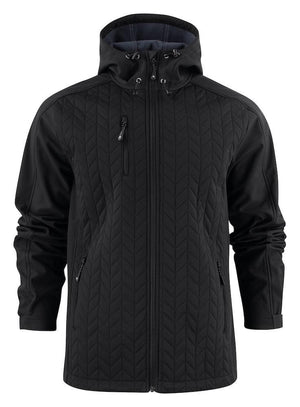 Harvest Myers Softshell jacket Black