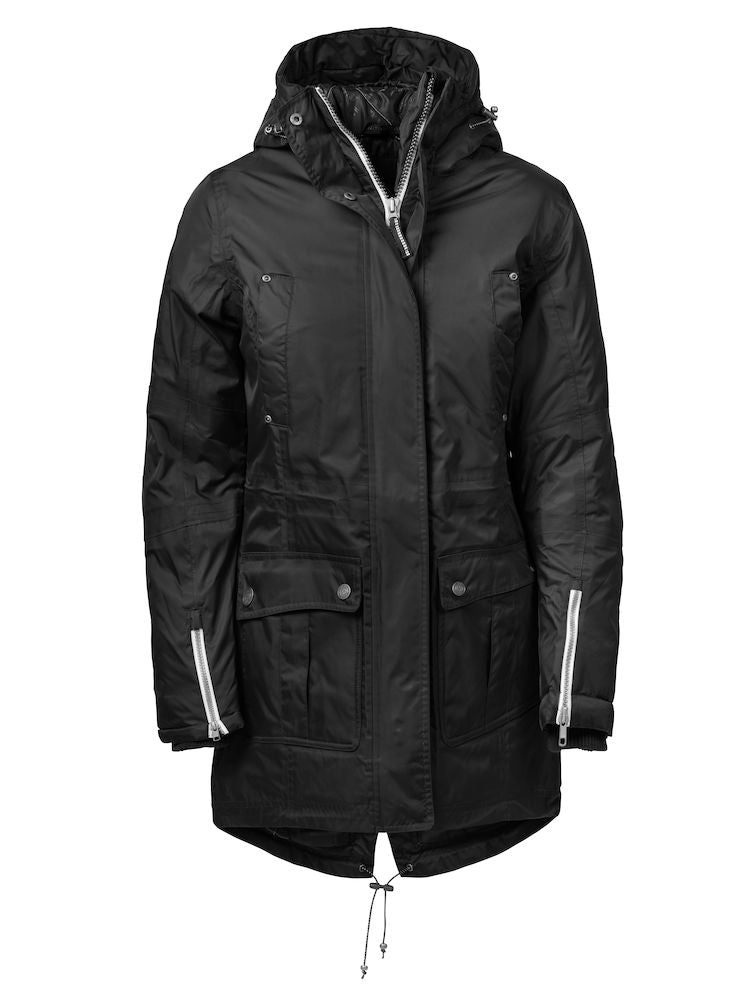 Harvest West Lake Lady Parka Black