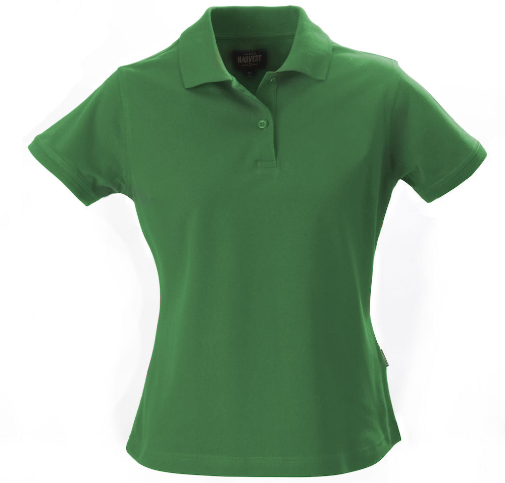 Harvest Albatross ladies piqué spring green
