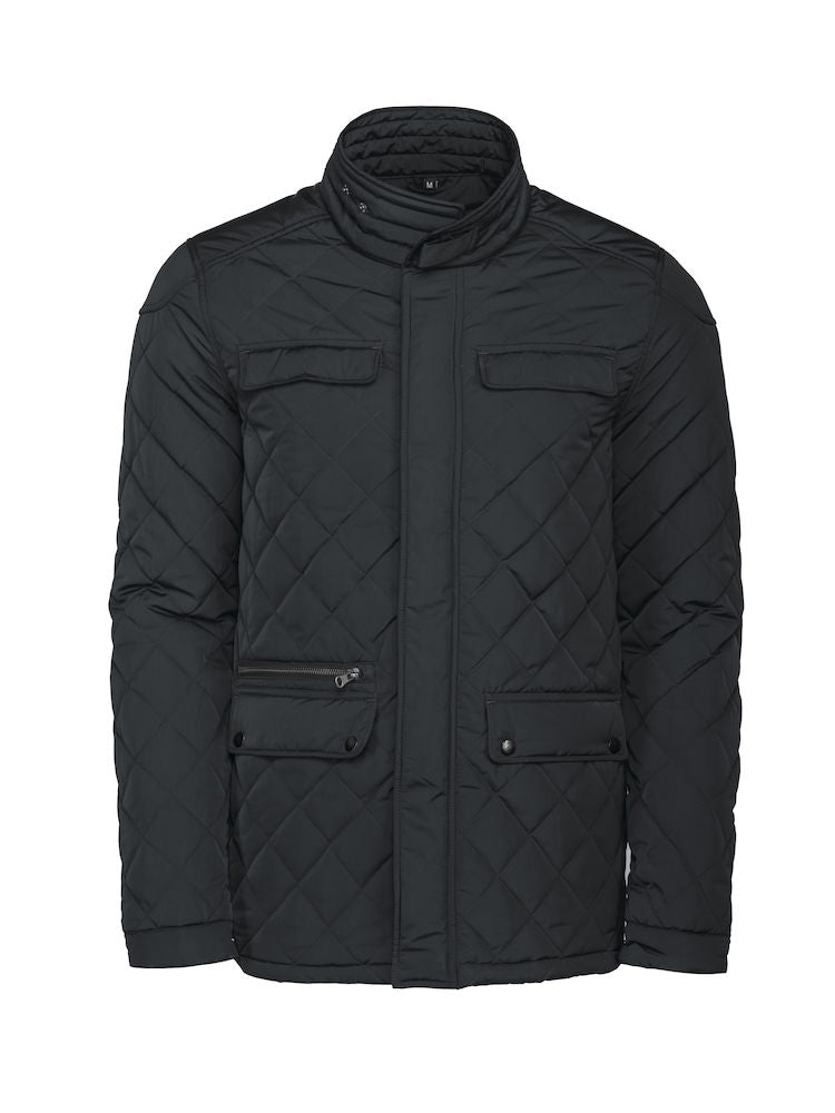 Harvest Huntingview quilted jacket Black