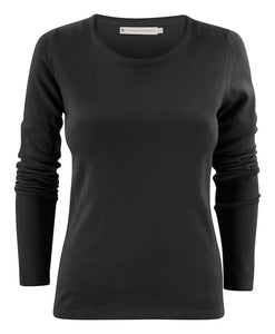Harvest Portland Lady r-neck pullover Black XXL