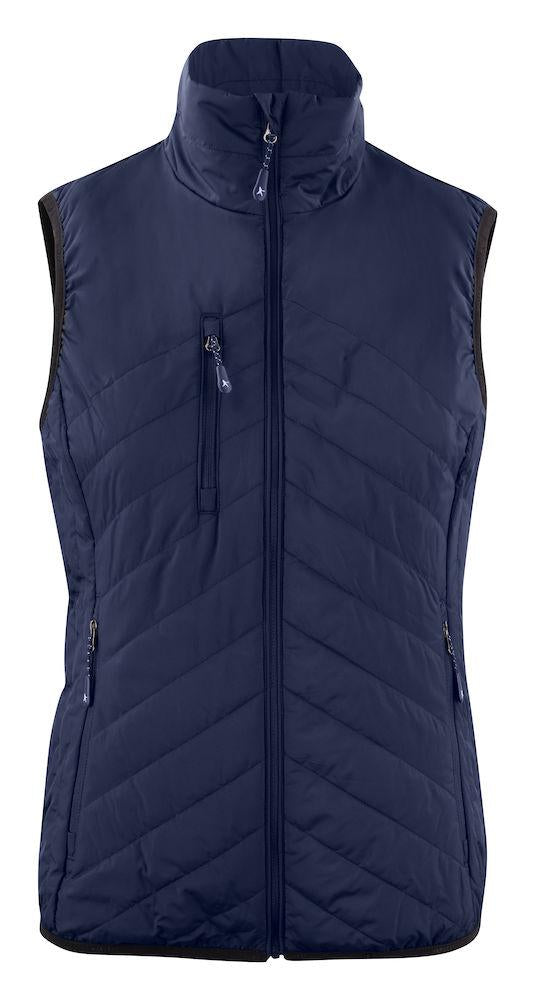 Harvest Deer Ridge Lady Vest Navy