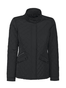 Harvest Huntingview Lady quilted jacket Black