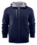 Harvest Parkwick hooded jacket Navy