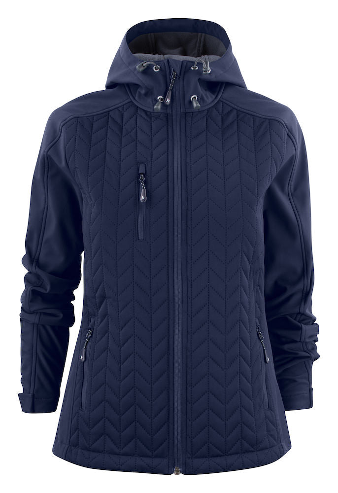 Harvest Myers Lady Softshell jacket Navy L