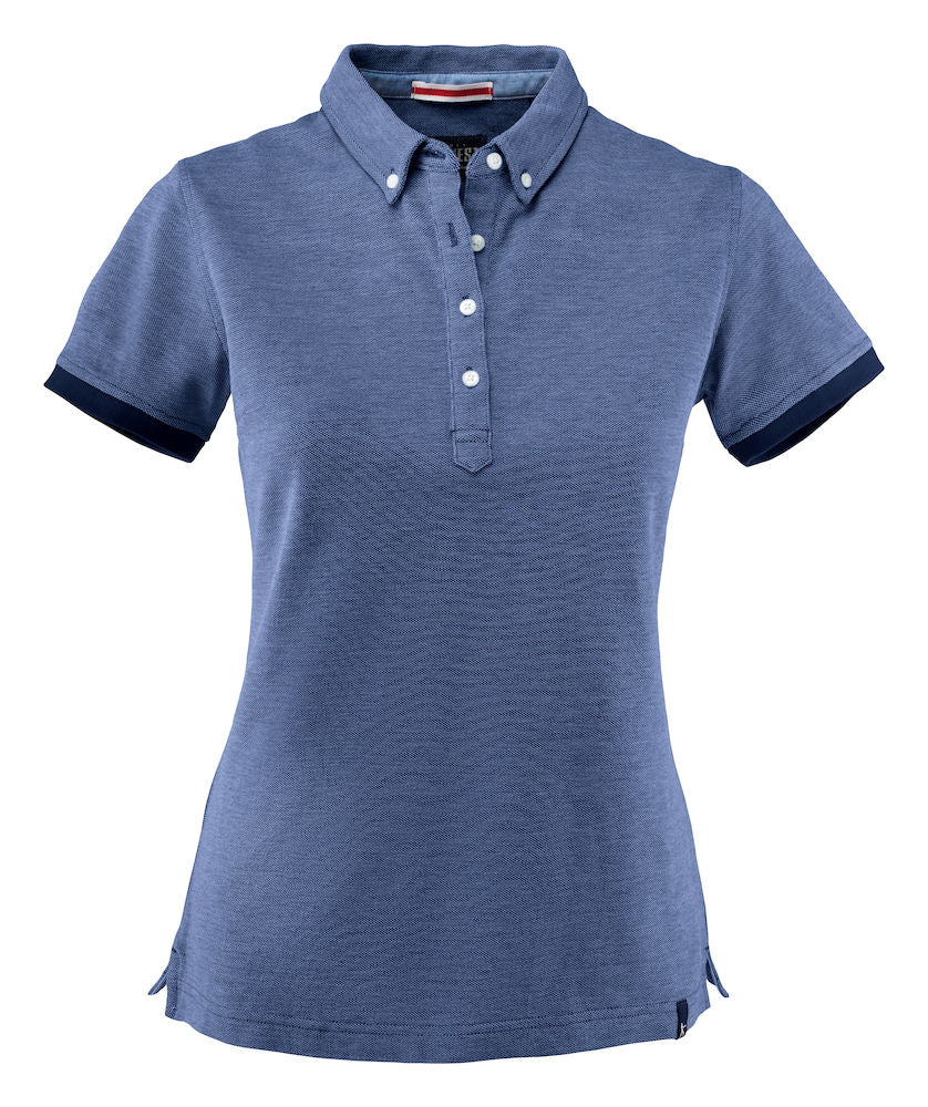 Harvest Larkford Lady polo D.blue melan