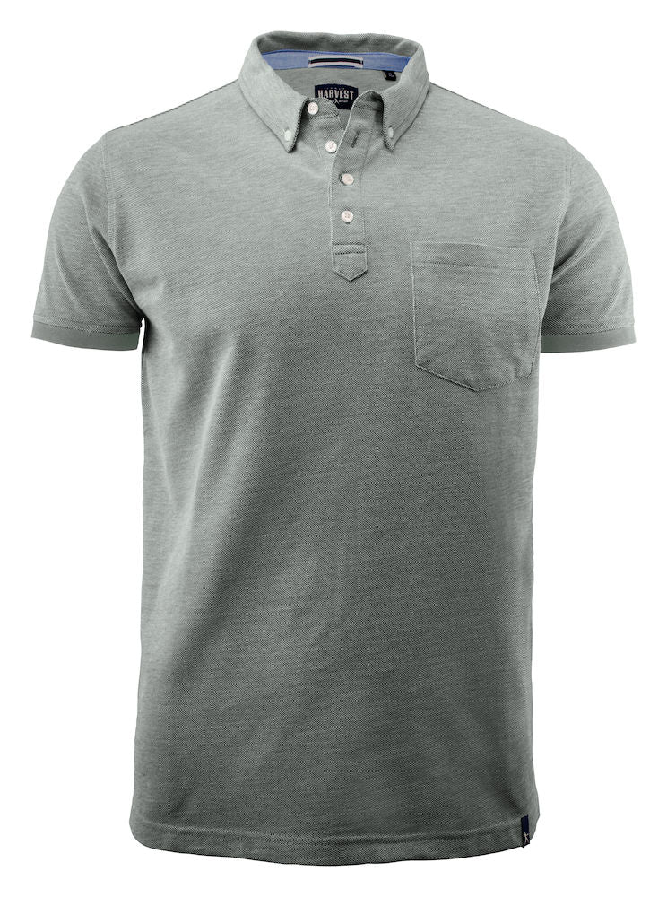 Harvest Larkford polo Grey melange