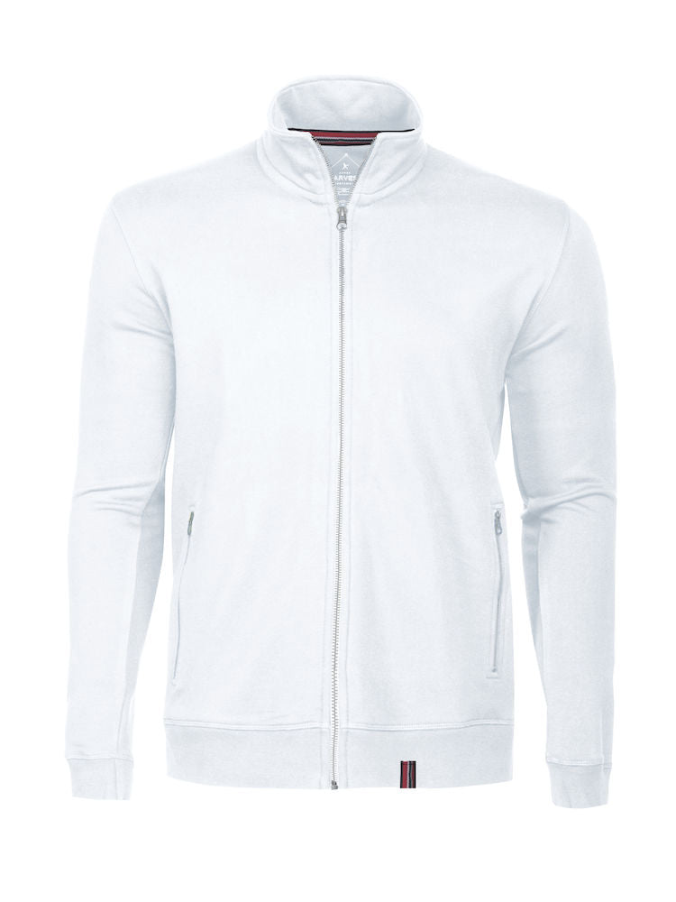 Harvest Novahill sweatjacket White
