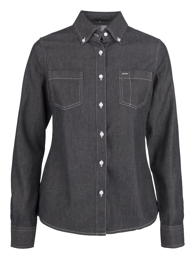 Harvest Jupiter ladies shirt Black Denim