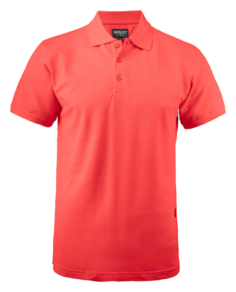 Harvest EAGLE m Men's piqué Coral