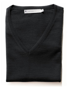 Harvest Westmore Lady merino pullover Black XS