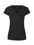 Harvest Whailford Lady slub V-neck Black