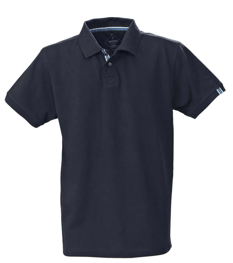 Harvest Avon Men's Pique Navy