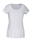 Harvest Twoville Lady slub U-neck White