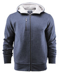 Harvest Parkwick hooded jacket D. Blue mel