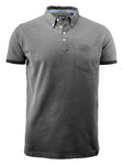 Harvest Larkford polo Black melang