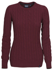 Harvest Treadville Lady pullover Burgundy Red