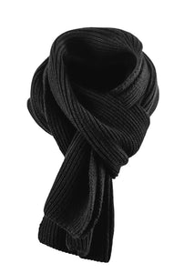 Harvest Easthope Ribscarf Black One size