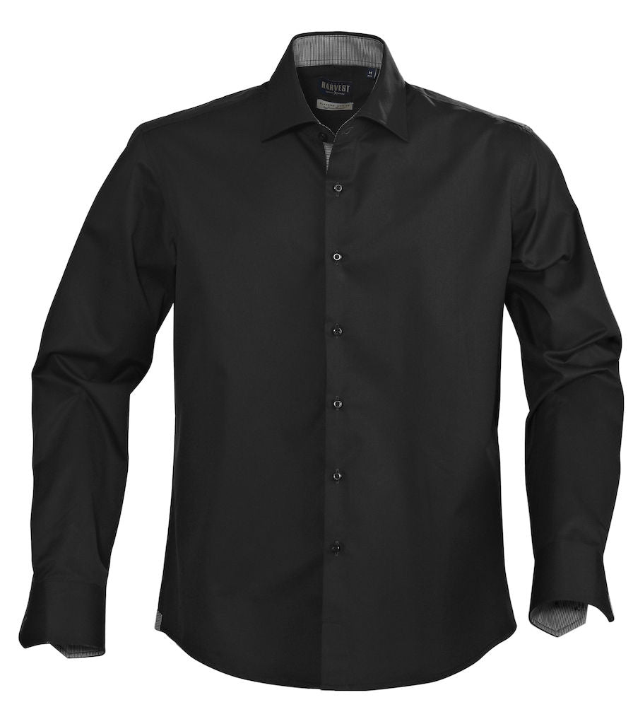 Harvest Baltimore single color shirt black