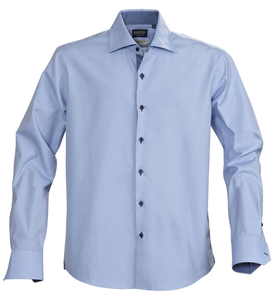 Harvest Baltimore single color shirt l.blue