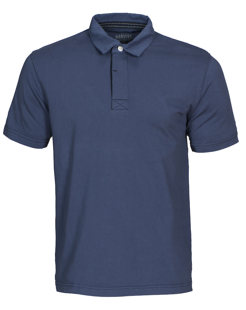 Harvest Amherst vintage polo Faded blue