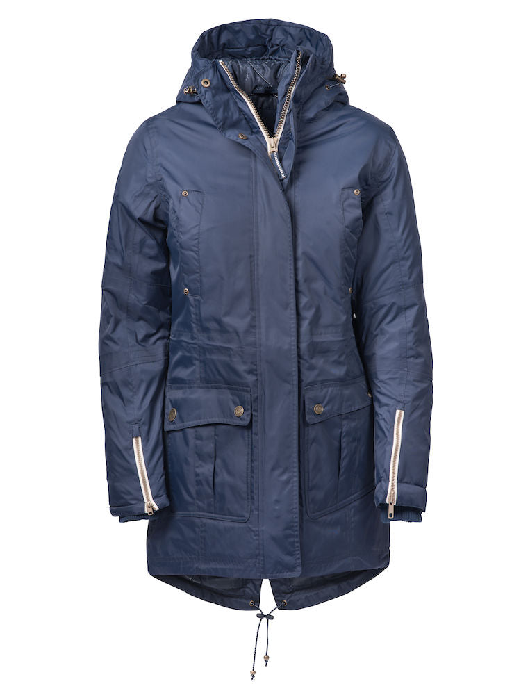 Harvest West Lake Lady Parka Navy