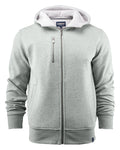 Harvest Parkwick hooded jacket Grey melange