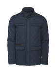 Harvest Huntingview quilted jacket Navy