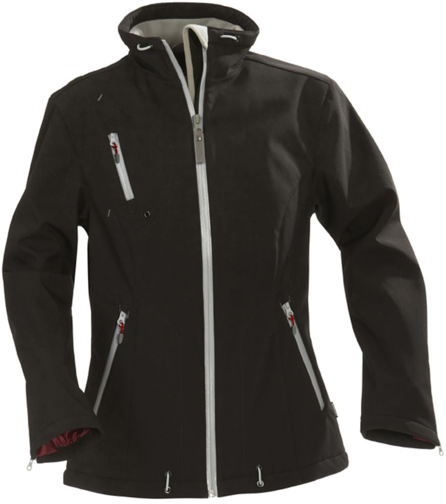 Harvest Savannah Lady Softshell Black